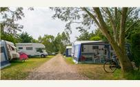 Pitch in Campsite de la Plage in Benodet